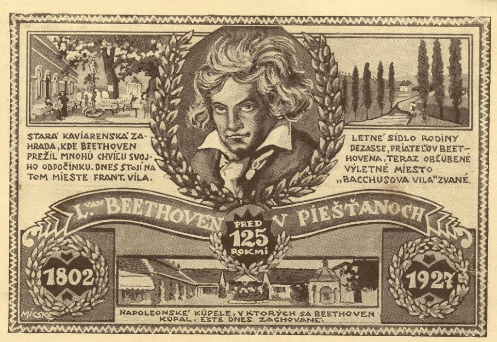 Beethovenova Alej Piešťany - Beethoven